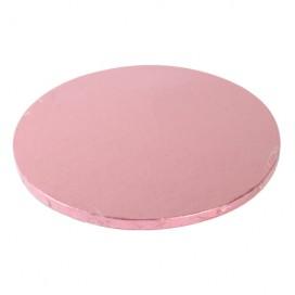 FunCakes rožinis (Pink) padėklas apvalus Ø25cm (10mm)