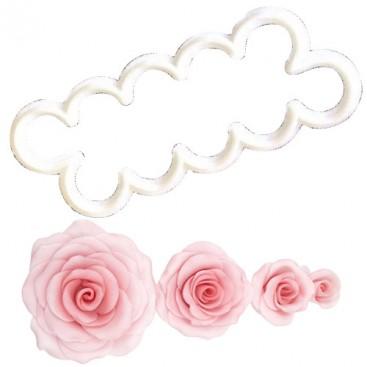 FMM Lengviausiai pagaminamos rožės formelė