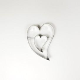Širdelės sausainių formelė - 3cm