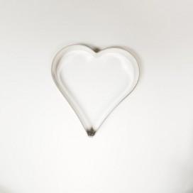 Širdelės sausainių formelė - 10 cm
