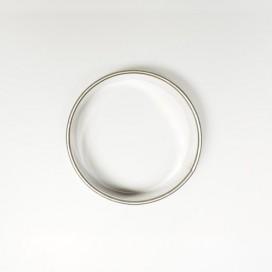 Apvali sausainių formelė - 6,5cm