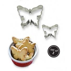 PME drugelių sausainių formelių rinkinys - 2vnt.