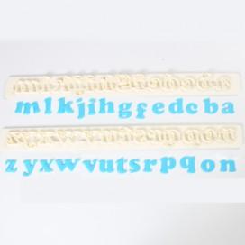 """FMM """"Italic"""" šrifto raidelių ir skaičių formelių rinkinys"""