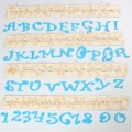 FMM raidelių ir skaičių formelių rinkinys