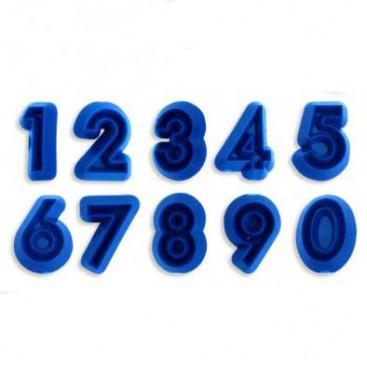JEM raidžių formelių rinkinys - 64 vnt.
