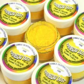 RD Geltoni (Sunset Yellow) Plain & Simple birūs dažai -3,5 g