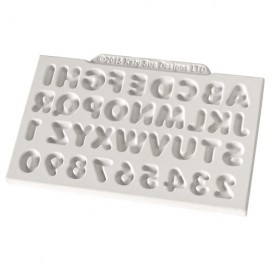 Katy Sue Mould Mini Domed Alphabet & Numbers