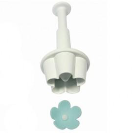PME gėlės formelė su stūmikliu