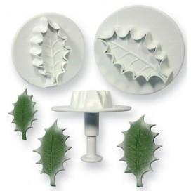 PME Holly Leaf Plunger Cutter - 3 vnt.