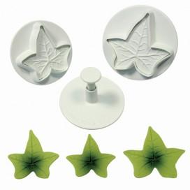 PME Ivy Leaf Plunger Cutter set/3 LARGE