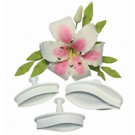 PME Lily Plunger Cutter set MED set/2
