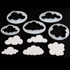 FMM Double Sided Cupcake Cutter Lips/Circle