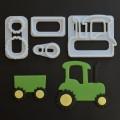 FMM traktoriaus formelė - 4 vnt.