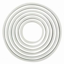 PME ovali formelė su banguotais kraštais - 4 vnt.