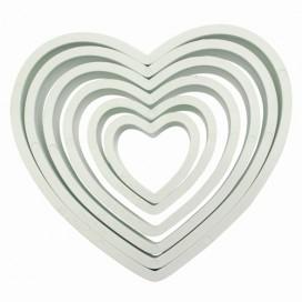 PME širdelių formelė - 6 vnt.