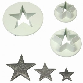PME Star Cutter Set/3