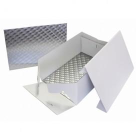 PME Cake Box & Oblong Cake Board (3mm) 33x22,8 cm