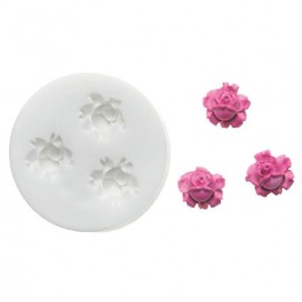 Silikomart silikoninė rožių formelė