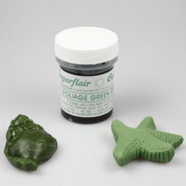 Sugarflair žali (foliage green) koncentruoti geliniai dažai - 42g.