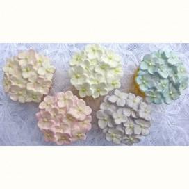 Karen Davies Cupcake Top mould - 3 Small Roses