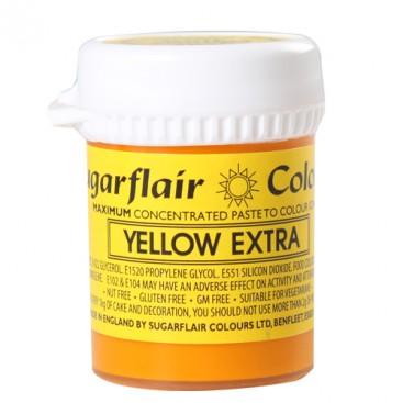 Sugarflair geltoni koncentruoti geliniai dažai - 42g.