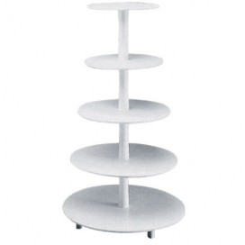 Tiered Cake Stand Plastic, 3 tiers