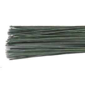 Culpitt nr. 26 tamsiai žalios vielytės gėlėms - 50 vnt.