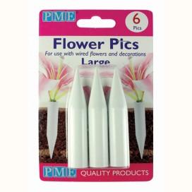 PME balta juostelė vielytėms, cukrinėms gėlėms