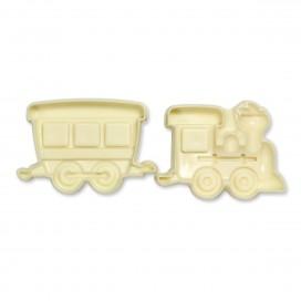 JEM formelė - traukinys ir vagonas