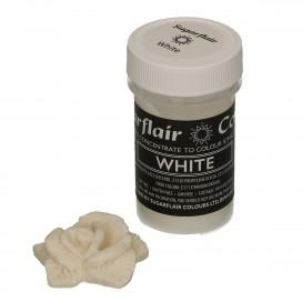 Sugarflair balti (white) dažai - 25g.