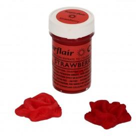 Sugarflair raudonos (starwberry) spalvos dažai - 25g.