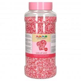 FunCakes rožiniai (lots of love) pabarstukai - 800g