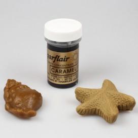 Sugarflair karamelinė/kreminė (caramel/ivory) geliniai dažai - 25g.
