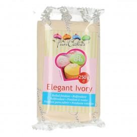 FunCakes kreminė (elegant ivory) cukrinė masė - 250g