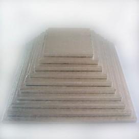 FunCakes sidabrinis padėklas kvadratinis 12,7 x 12,7 cm (12 mm)