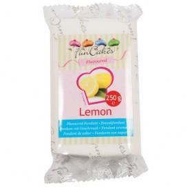 FunCakes balta cukrinė masė citrinų skonio - 250g