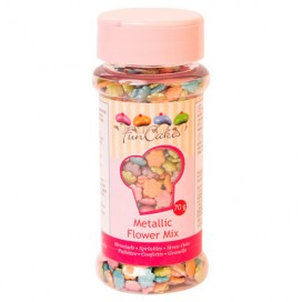 FunCakes Confetti Metallic Yellow 70g