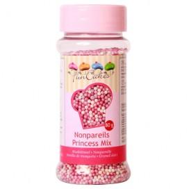 FunCakes Nonpareils -Princess Mix- 80g