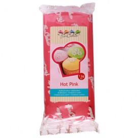 FunCakes rožinė (hot pink) cukrinė masė -1kg