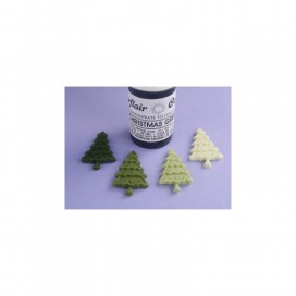 Sugarflair žalia (christmas green) geliniai dažai - 25g.
