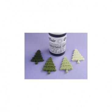 Sugarflair žalia (christmas green) koncentruoti geliniai dažai - 25g.