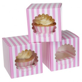FunCakes Cupcake Box 6 -Cupcakes 24x16x8cm- + insert pk/3
