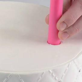 Silikomart plastikiniai pagaliukai tortui sutvirtinti - 5 vnt.