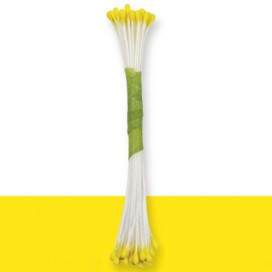 JEM Plain Stamen Fine -Lemon Yellow- pk/50