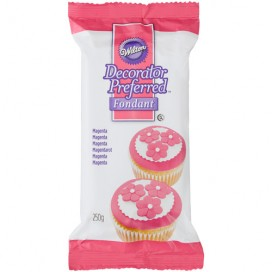 Wilton rožinė cukrinė masė - 250g