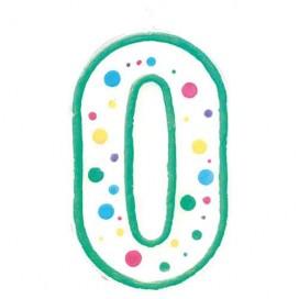 """Wilton žvakutė - skaičius """"1"""""""