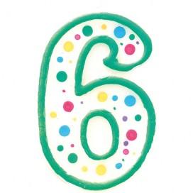 """Wilton žvakutė - skaičius """"3"""""""