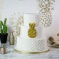 Karen Davies silikoninė ananaso rašto formelė