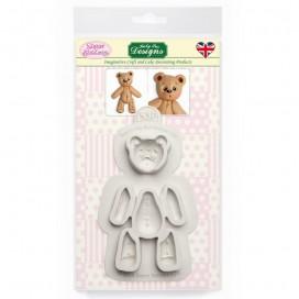 Katy Sue silikoninė meškiuko formelė (Teddy Bear)