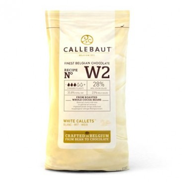 Callebaut Callets baltas šokoladas - 1 kg